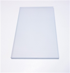 Custom Steel Speaker Grills In White Baffle Covers For Wall Ceiling Mesh Home Theater Screens